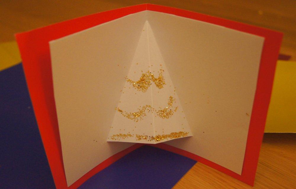 Bigliettini natale fai da te per bambini - Decorazioni natalizie bambini fai da te ...