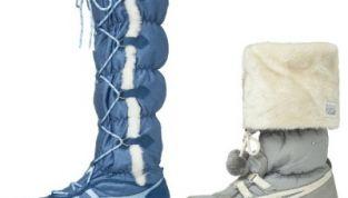 Scarpe Onitsuka Tiger Winter Street Style da donna collezione inverno 2011-2012