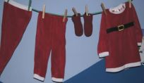 Decorazioni natalizie per la cameretta dei bambini
