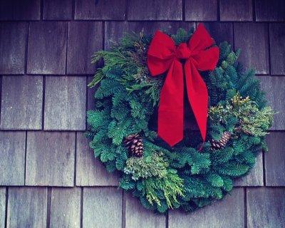 Ghirlande di Natale fai da te originali e creative