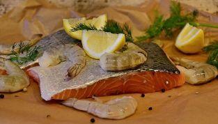 Menu di pesce per pranzo di Natale