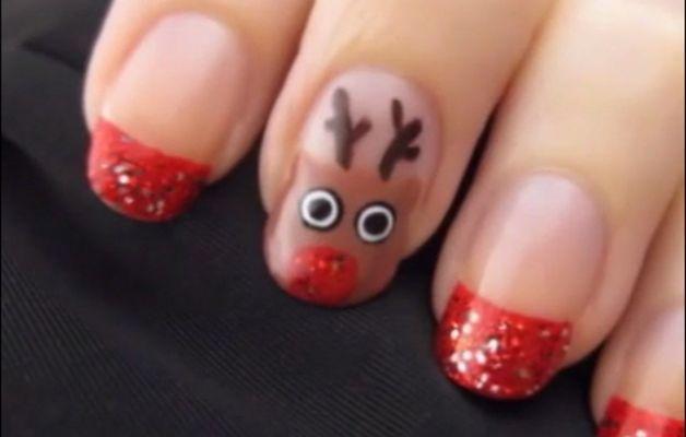 Nail Art natalizia qualche idea per avere le unghie a tema con il Natale