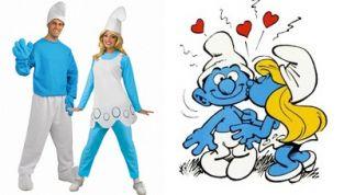 Costume Carnevale Puffi fai da te