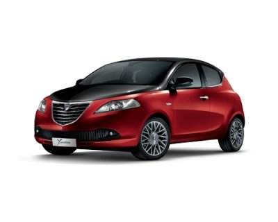 Lancia Ypsilon Black & Red: l'auto sporty chic