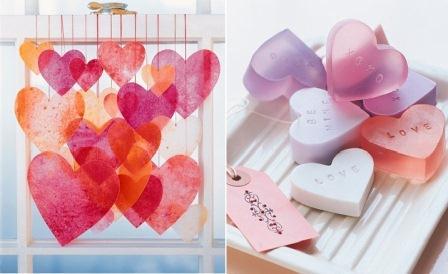 Decorazioni per casa per il giorno di san valentino - Decorazioni per il bagno ...