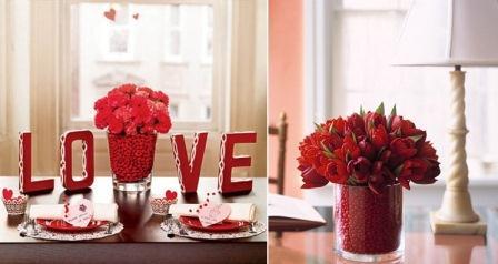 Decorazioni per casa per il giorno di san valentino - Decorazioni tavola san valentino ...