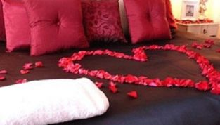 Decorazioni casa per il giorno di San Valentino