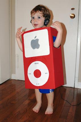 Costume Carnevale da iPod un costume tecnologico e semplice da realizzare