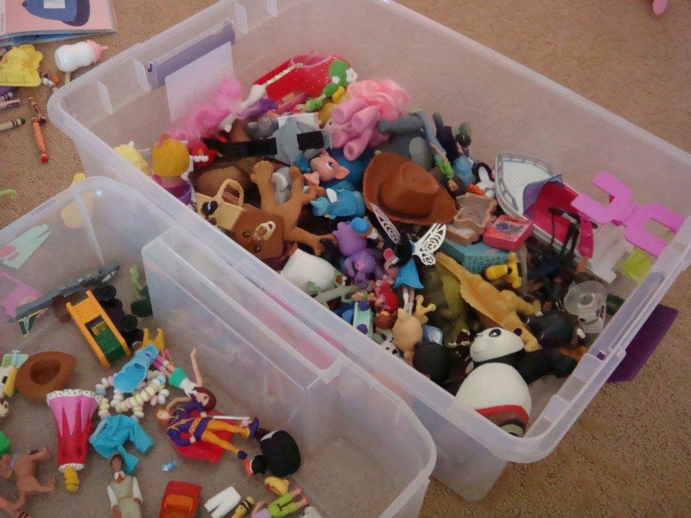 contenitore per giocattoli fai da te