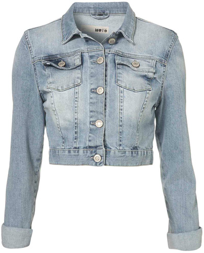 Giacca di jeans: must have di Primavera 2012