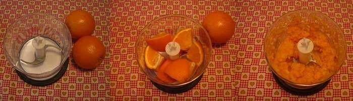 Torta arancio light