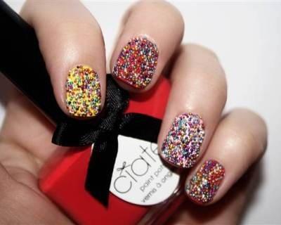 Caviar Manicure 2012: unghie caviale tutorial