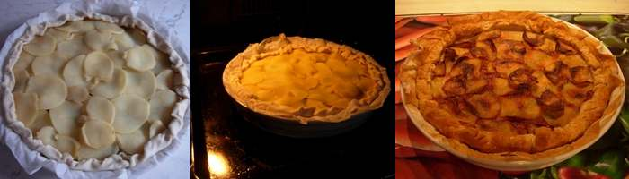 Torta patate scamorza e taccole