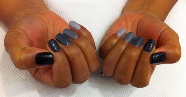 Ombre nails tutorial unghie di 5 colori diversi