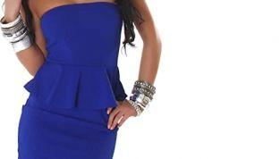 Peplum dress: l'abito a tulipano più cool della stagione estiva 2012