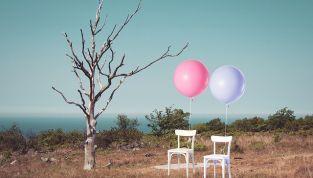 Addobbi per matrimonio con palloncini