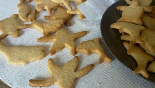 Biscotti semplici miele e limone