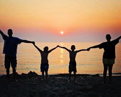 Le vacanze estive nelle famiglie allargate