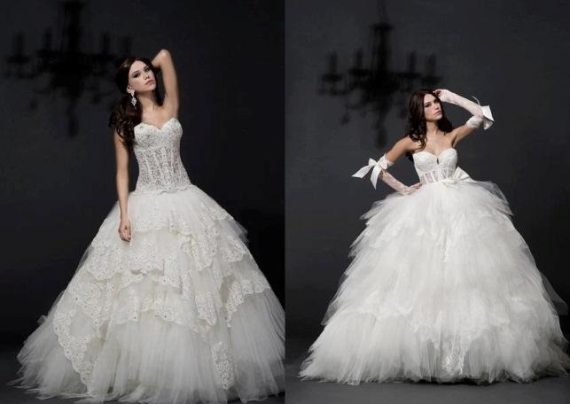 def646b67339 ... la collezione di abiti da sposa 2012 ha fatto letteralmente sognare e  ora è giunto il momento di scoprire gli abiti da sposa Pnina Tornai 2013.