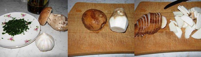 Risotto funghi