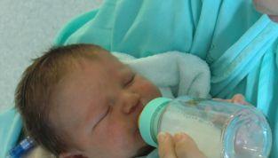 Estrazione del latte materno