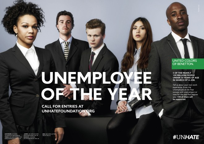 Unemployee Of The Year, l'ultima provocazione Benetton