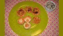 Zucca con ceci, gamberetti e riso