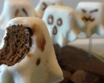 Fantasmini dolci di Halloween