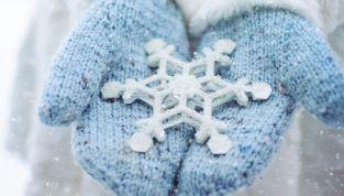 Fiocchi di neve quilling fai da te per Natale