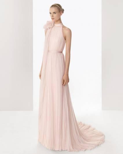 reputable site cb5d4 736e3 Abiti da sposa rosa per un matrimonio romantico e femminile