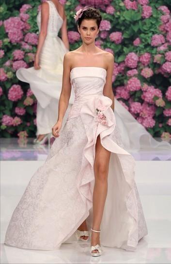 Rose rosa abiti da sposa