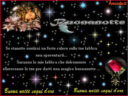 Frasi D Amore Per La Buonanotte.Pps Buonanotte Sogni D Oro