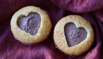 Cupcakes a cuore per la festa degli innamorati