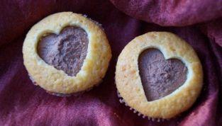 Cupcakes a cuore per San Valentino