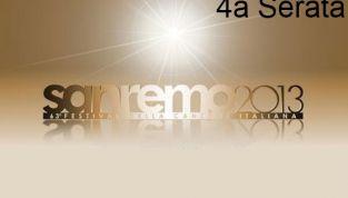 Quarta Serata del Festival di Sanremo 2013