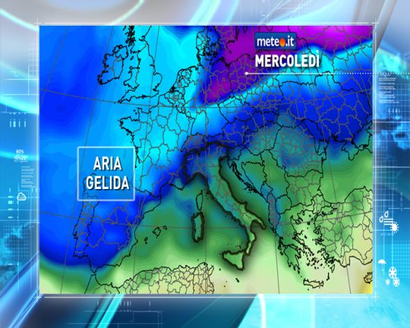Maltempo Italia ciclone Viking