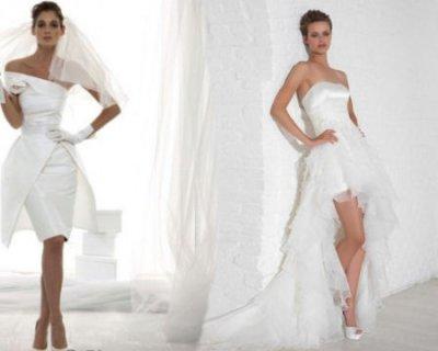 Scarpe per abito da sposa bianco
