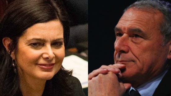 Grasso e boldrini alle due camere for Le due camere del parlamento