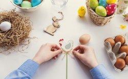 Appendino pasquale da cucina a forma di uovo