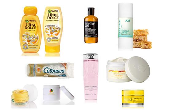 Miele ingrediente bellezza viso corpo