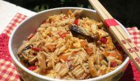 Ricetta del Nasi Goreng vegetariano