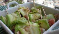 Involtini di zucchine estivi, una fresca ricetta per l'estate