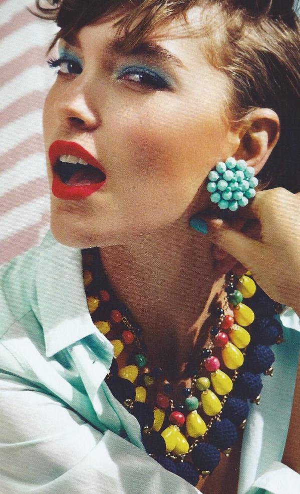 Maxi bijoux accessori estate 2013
