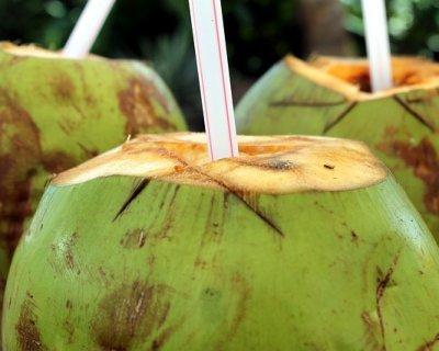 Acqua di cocco, bevanda dissetante naturale