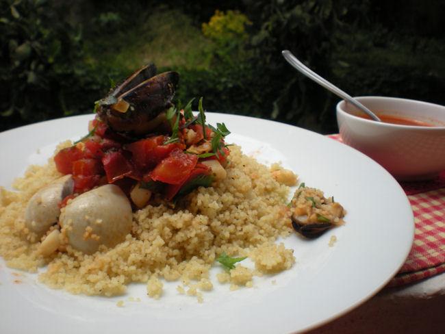 cous cous di molluschi