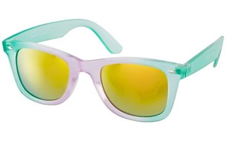Occhiali sole colorati estate 2013