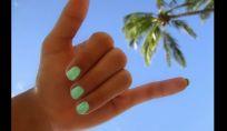 Mare sulle unghie