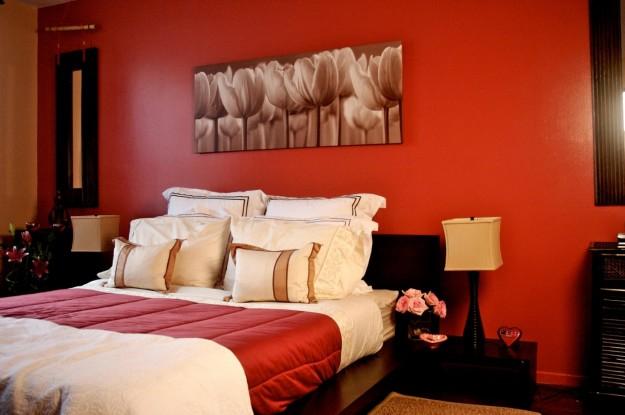 I colori per le pareti della camera da letto