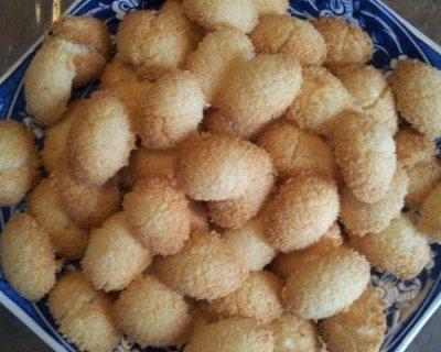Ricetta dei biscotti al cocco