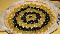 Crostata crema e uva, una fantastica torta di primo autunno